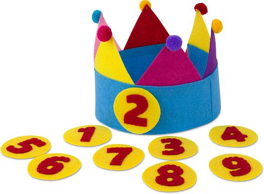 Verjaardagsmuts Multicolour
