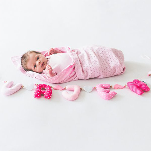 Kiddycolors Sfeer Foto Lichtroze Newborn