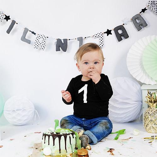Kiddycolors Sfeerfoto Verjaardag Slinger