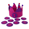 Kiddycolors Verjaardag Kroon Paars