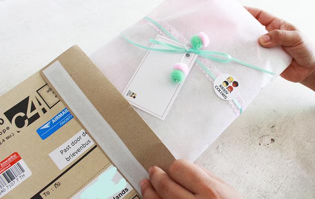 Inpakken Naamslingers Kiddycolors