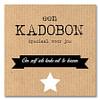 Kadobon Speciaal Voor Jou