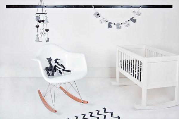 Kinderkamer Zwart Wit