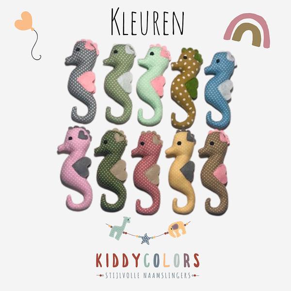 Zeepaardjes Kleuren Kiddycolors (1)